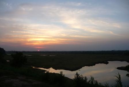 Sunset by Lake_2
