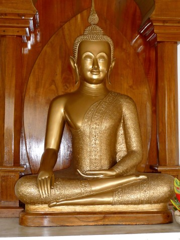 Buddha Statue at Bodhizendo, Kodaikanal, India