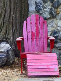 The Ole' Weathered Chair