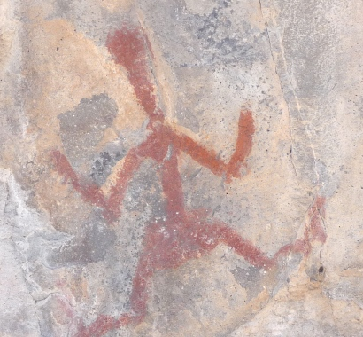 Petroglyphs at a Nearby Mogollon Site