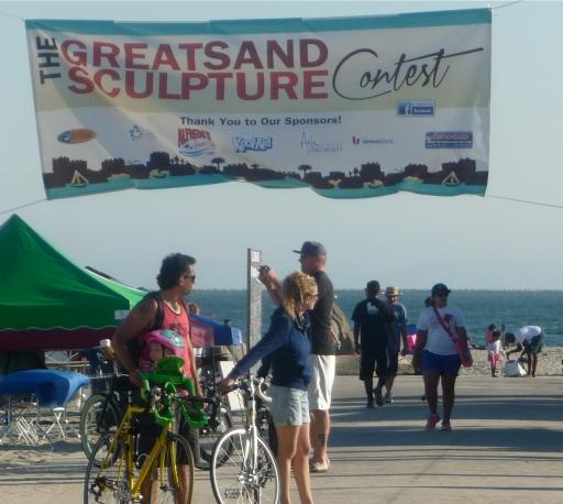 Banner at Long Beach, CA
