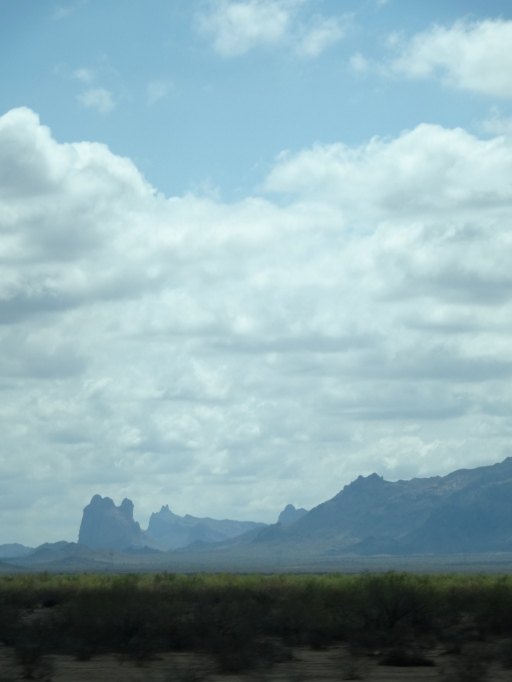 Mountain-scape near Phoenix, AZ